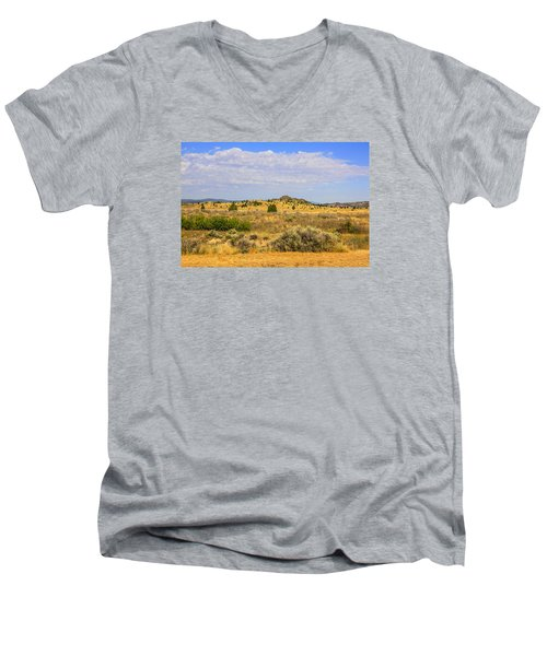 Big Sky Country Men's V-Neck T-Shirt