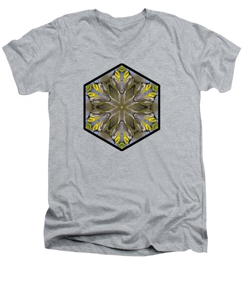 Black-throated Green Warbler Men's V-Neck T-Shirt