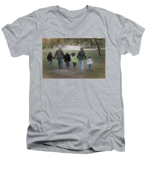Blended Family Men's V-Neck T-Shirt