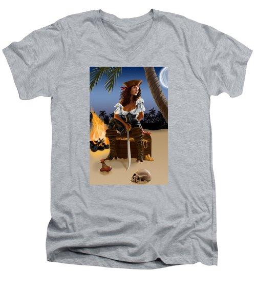 Buckling The Swash Men's V-Neck T-Shirt