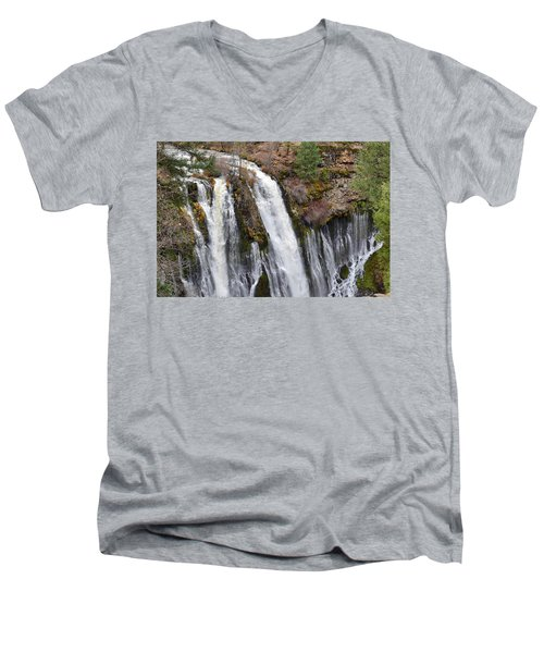 Burney Falls Men's V-Neck T-Shirt