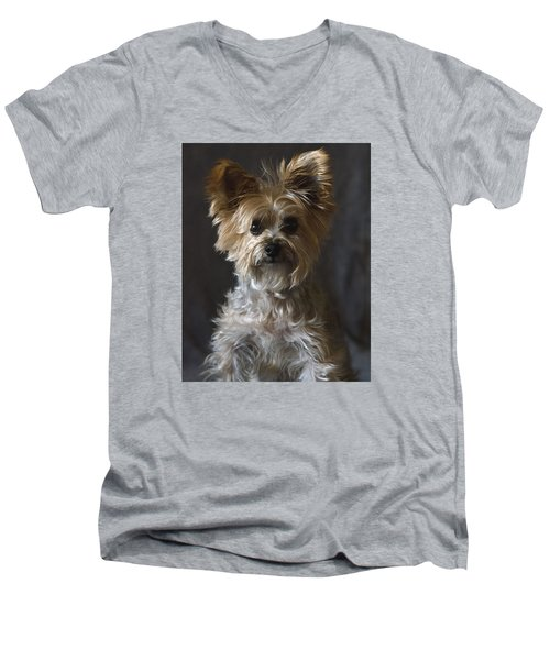 Buster Men's V-Neck T-Shirt