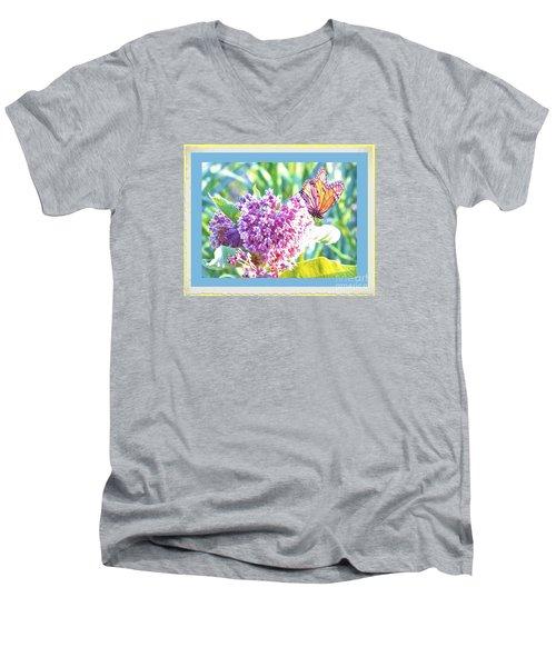 Butterfly Day 2 Men's V-Neck T-Shirt