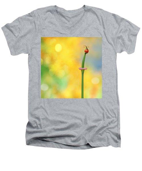 California Girls Men's V-Neck T-Shirt by John Poon