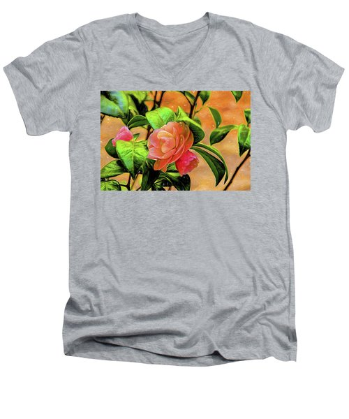 Camellia Candy Men's V-Neck T-Shirt