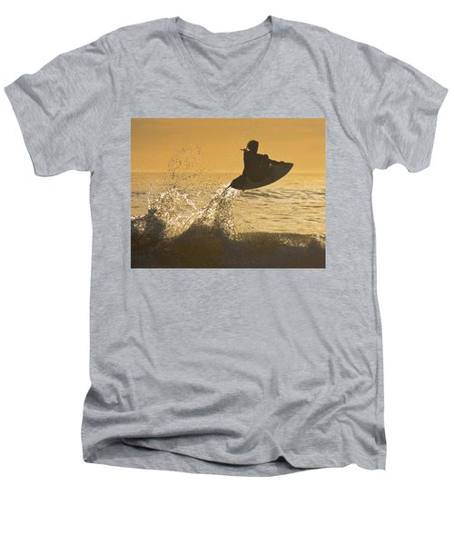 Catching Air Men's V-Neck T-Shirt