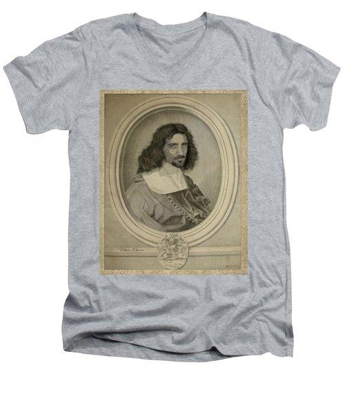 Celebrity Etchings - Clive Owen Men's V-Neck T-Shirt