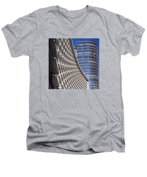 Century Plaza Hotel Men's V-Neck T-Shirt