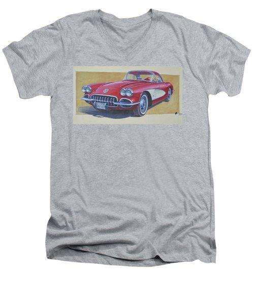 Chevy. Men's V-Neck T-Shirt