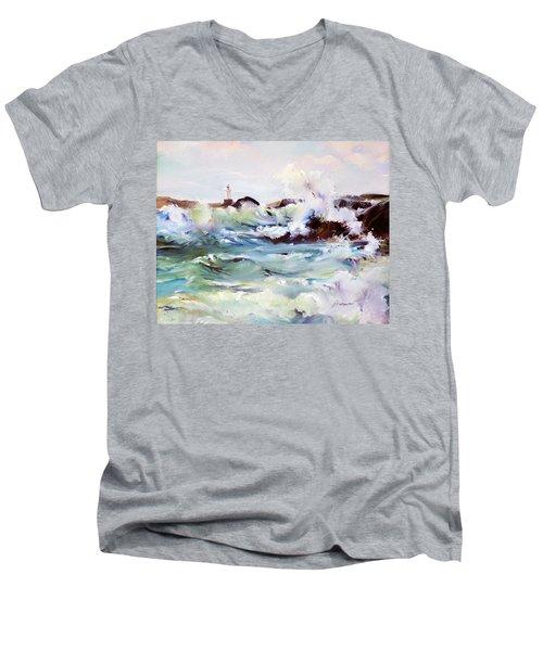 Churning Surf Men's V-Neck T-Shirt