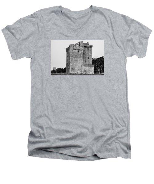 Clackmannan Tower Men's V-Neck T-Shirt