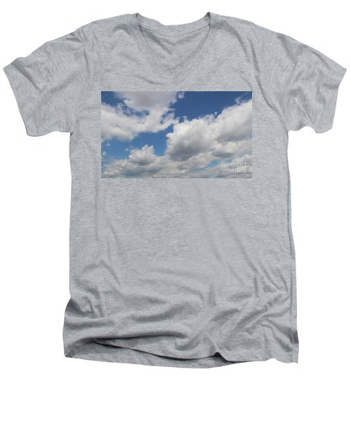 Clouds 16 Men's V-Neck T-Shirt by Rod Ismay
