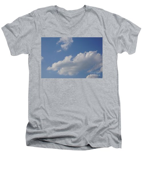Clouds 15 Men's V-Neck T-Shirt by Rod Ismay