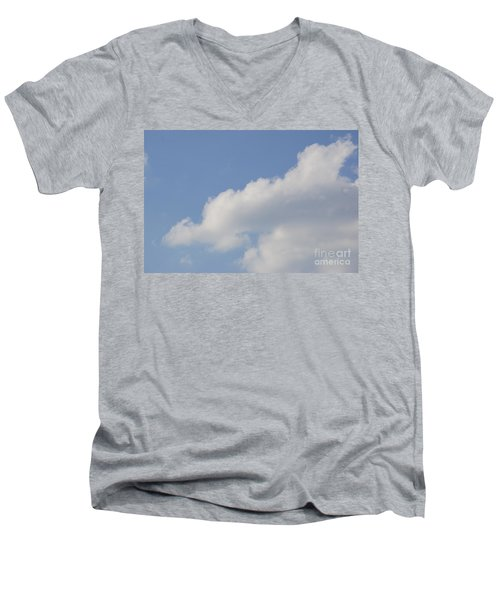 Clouds 14 Men's V-Neck T-Shirt by Rod Ismay
