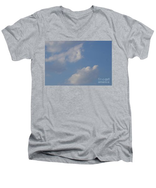 Clouds 13 Men's V-Neck T-Shirt by Rod Ismay