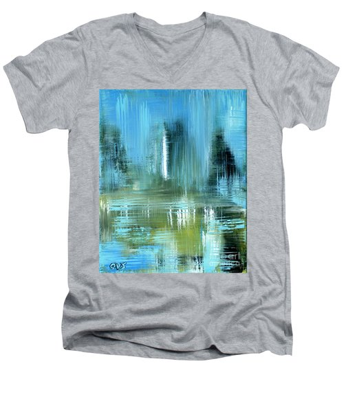 Original For Sale. Collection Art For Health And Life. Painting 9 Men's V-Neck T-Shirt