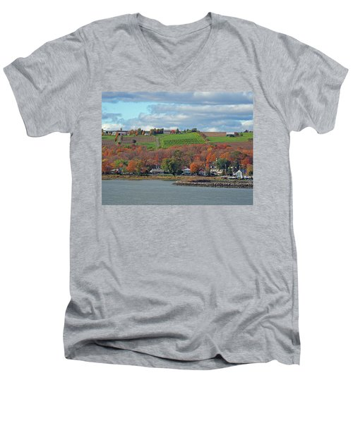 Colors In Canada Men's V-Neck T-Shirt