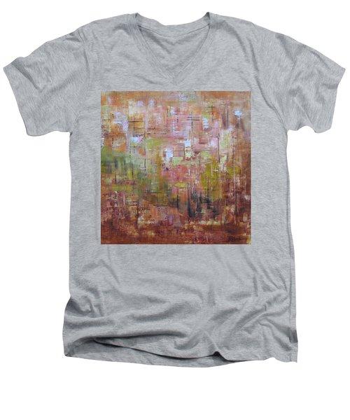 Communicate Men's V-Neck T-Shirt