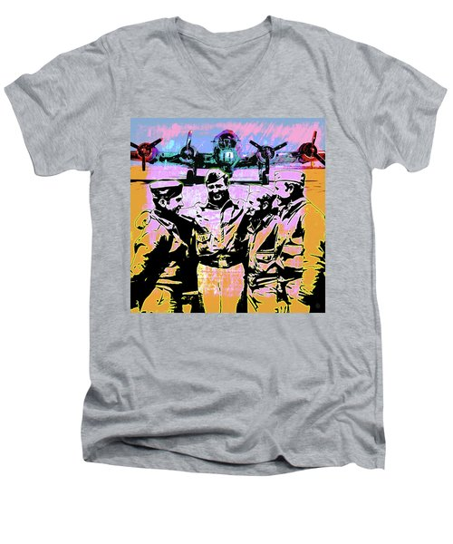 Comradeship Men's V-Neck T-Shirt