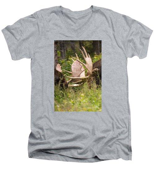 Engaged Men's V-Neck T-Shirt