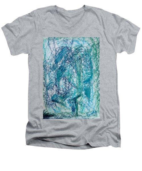 Confounded Men's V-Neck T-Shirt