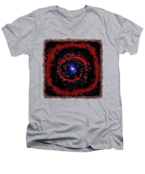 Cosmic Eye 2 Men's V-Neck T-Shirt