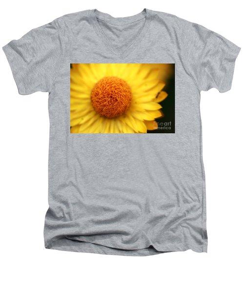 Crazy Spin Men's V-Neck T-Shirt by Stephen Mitchell