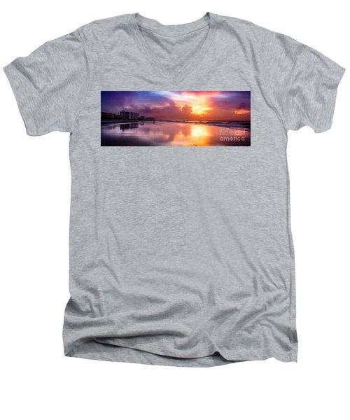 Crescent Beach September Morning Men's V-Neck T-Shirt