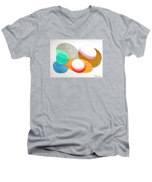 Curves And Things Men's V-Neck T-Shirt