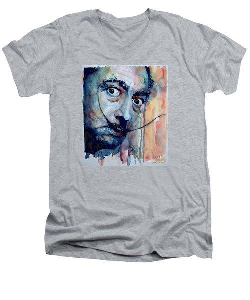 Dali Men's V-Neck T-Shirt