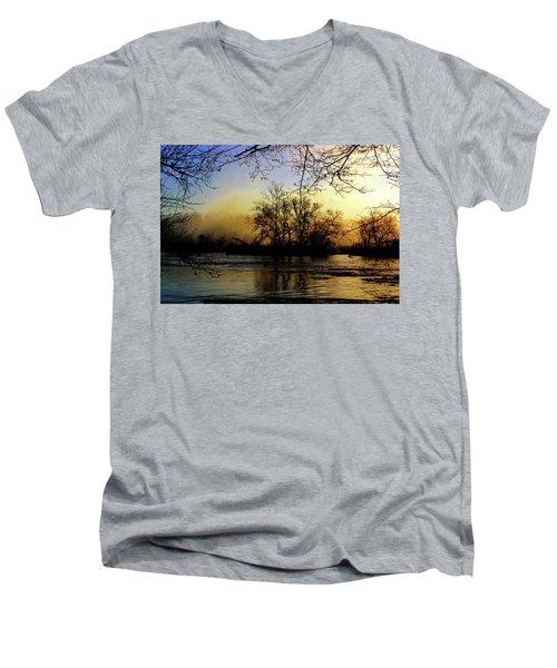 Morning Dawn Men's V-Neck T-Shirt