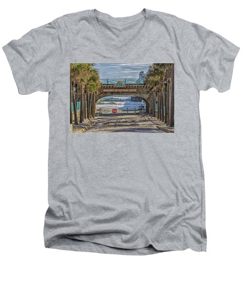 Daytona Beach Men's V-Neck T-Shirt