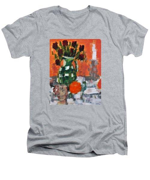Dead Roses Men's V-Neck T-Shirt