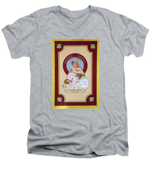 Digital Mucha Men's V-Neck T-Shirt