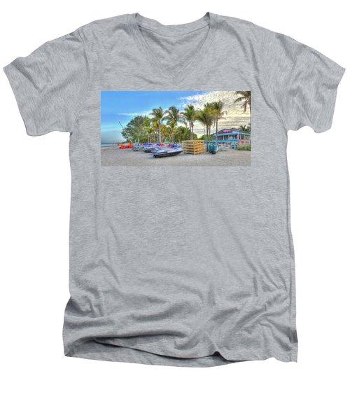 Docs Beach House Men's V-Neck T-Shirt