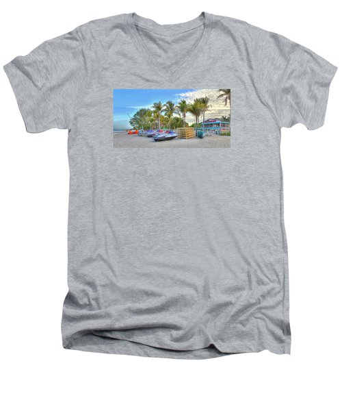 Docs Beach House Men's V-Neck T-Shirt