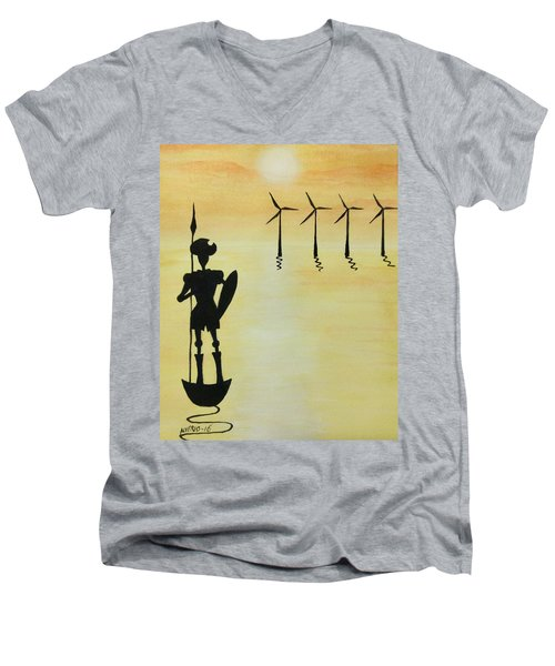 Don Quixote Men's V-Neck T-Shirt
