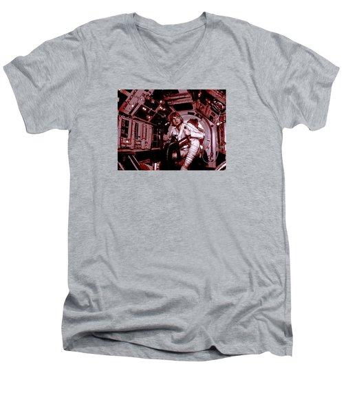 Don't Get Cocky, Kid Men's V-Neck T-Shirt by Kurt Ramschissel