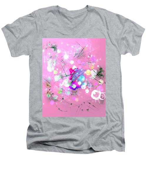 Drizzle  Men's V-Neck T-Shirt