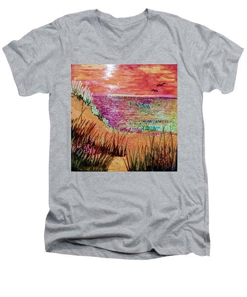 Dune Dreaming Men's V-Neck T-Shirt