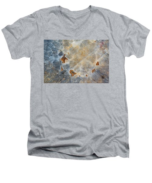 Earth Portrait 286 Men's V-Neck T-Shirt