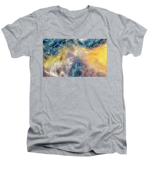 Earth Portrait Men's V-Neck T-Shirt