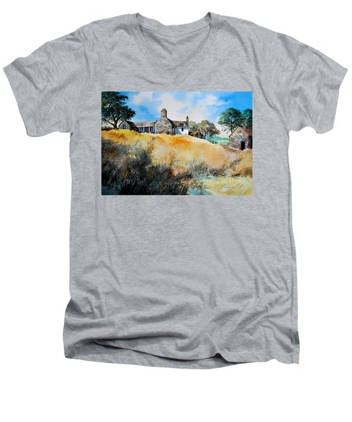 English Farmhouse Men's V-Neck T-Shirt