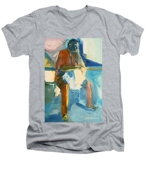 Ernie Men's V-Neck T-Shirt