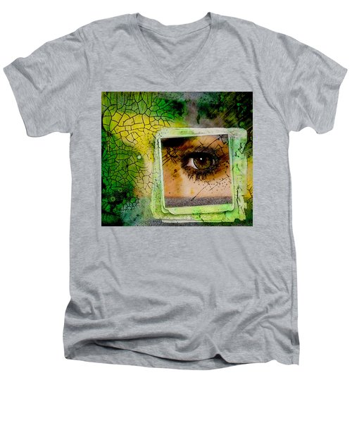 Eye, Me, Mine Men's V-Neck T-Shirt