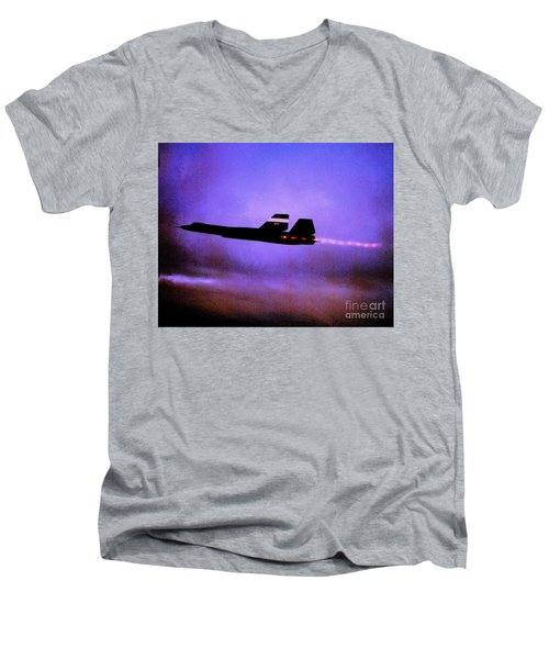 Faster Than Fast Men's V-Neck T-Shirt by Greg Moores