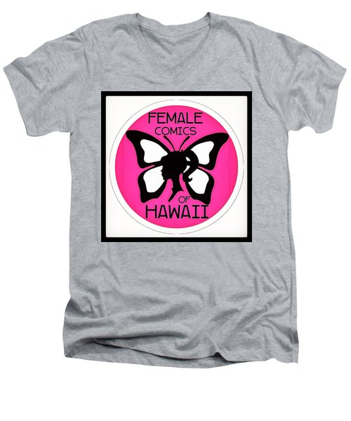 Female Comics Of Hawaii Men's V-Neck T-Shirt