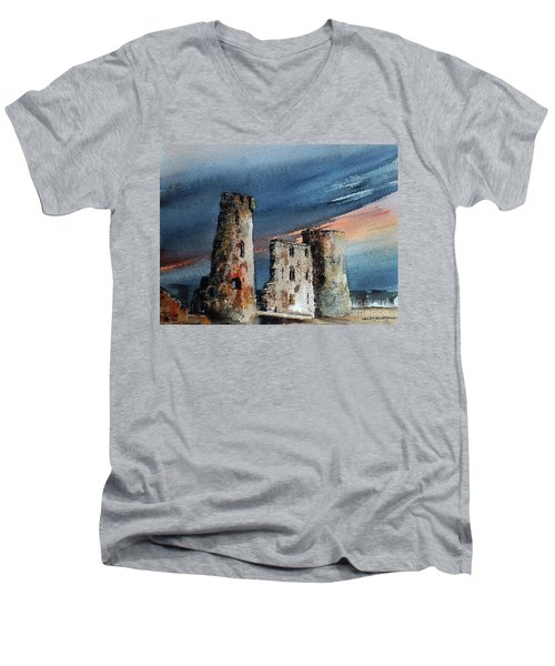 Ferns Castle, Wexford Men's V-Neck T-Shirt
