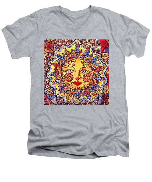 Fiesta Sun Men's V-Neck T-Shirt