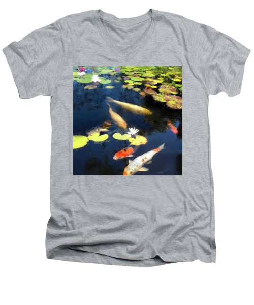 Fish Pond Men's V-Neck T-Shirt